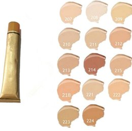 $enCountryForm.capitalKeyWord UK - Makeup Base Cover Extreme Covering liquid Foundation Hypoallergenic Waterproof 30g Cheap Skin Concealer 14 color gold cream Cosmetic DHL