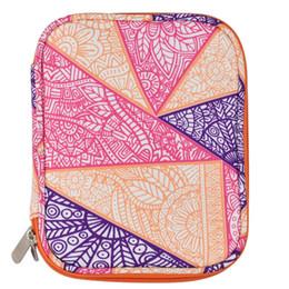 Sew Case UK - FGGS-Empty Crochet Hook Bag Storage Pouch Knitting Kit Case Organizer Bag For Sewing Crochet Needles Scissors Ruler Accessory