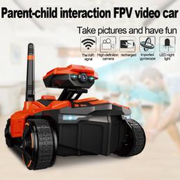 $enCountryForm.capitalKeyWord UK - YD-211RC Tank Wifi FPV 0.3MP Camera App Spy RC Tank RC Toy Phone Controlled Remote Control Car with Camera Toys for Children