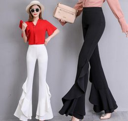 051629142a22 Sexy club bootS online shopping - 2019 womens fashion flares bell bottomed  pants Night club Sexy