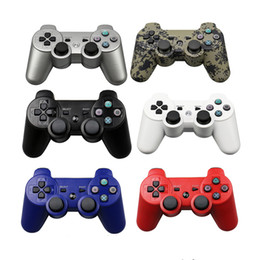 Playstation sixaxis wireless controller online shopping - New For PS3 Wireless Bluetooth Game Controller GHz Colors For SIXAXIS Playstation Control Joystick Gamepad r25