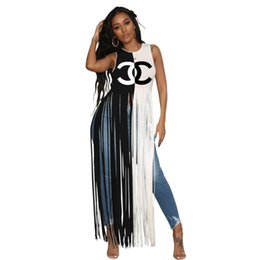 $enCountryForm.capitalKeyWord UK - womens designer T Shirts tassel New type womens sleeveless shirts Casual Sexy T-shirts fashion Tops Tees comfortable womens Clothing 1729