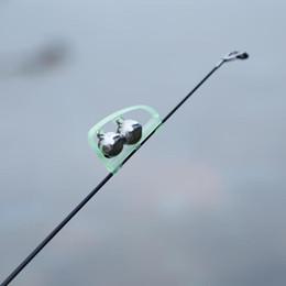 Discount fishing lures glow dark - Glow In Dark Fishing Alarm Clip Outdoor Twin Bells Ring Fishing Rod Clamp Bells Bite Clip Lure Bells Alarm Fishing Acces