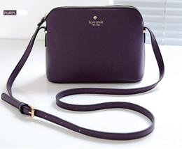 China bag handbags shoulder online shopping - Designer kate shell bag new handbag chains shoulder Messenger bag Lady bowknot patchwork purses crossbody bags