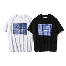 f82747439 Best quality octopus Tee Box Logo octopus Unisex t shirts Print tops T- shirts Summer Short Sleeve Loose skateboard fashion shirt system halt