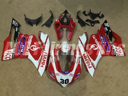 Motorcycle S Fairings NZ - New ABS motorcycle Fairings kits 100% Fit for DUCATI 899 1199 Panigales 13 14 15 899S 1199S 2013 2014 2015 bodywork set red white