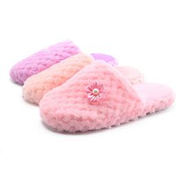 33ea313348a3 Women Warm Shoes Winter Indoor Fur Shoes Solid Slipper Indoors Anti-slip  Winter House Flip Flops Leisure Slippers