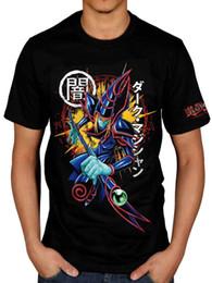 Yu Gi Cards Australia - Official Yu-Gi-Oh! Dark Magician Unisex T-Shirt Card Game Anime Japenese