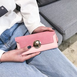 $enCountryForm.capitalKeyWord Australia - Pretty2019 Fund Long Woman Japan And South Korea Concise Hasp Small Fresh Wallet Ultrathin Soft Leather Hand Take Package Tide
