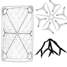 $enCountryForm.capitalKeyWord UK - New Fashion Bed Sheet Clips Adjustable Elastic Straps Mattress Clips Fasteners Fixing Straps New Fashion Bed Sheet Clips