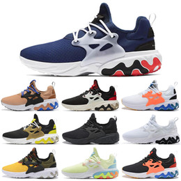 panda arts NZ - React Presto Running Shoes Psychedelic Lava Brutal Honey Rabid Panda Triple Black White Breezy Thursday Women Mens Trainer Sports Shoes
