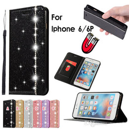 Iphone 5s Flip Case Magnetic Australia - Bling Diamond Magnetic Leather Case For Samsung Galaxy S9 S8 Plus S7 Edge NOTE9 NOTE8 Iphone XR XS Max X 8 7 6 6S 5 5S SE Flip Stand Cover