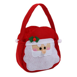 $enCountryForm.capitalKeyWord Australia - Bag Santa Claus Elf Spirit Candy Gift Kid Children Christmas Gift Bags Home Decoration Accessories Xmas Santa Claus