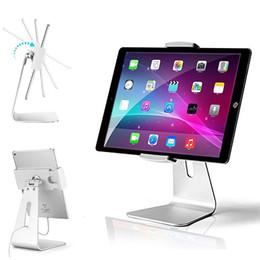 $enCountryForm.capitalKeyWord Australia - Universal Elegant Aluminium Tablet Stand Desktop Clamp Kiosk POS AP-7S Stand for Store Showcase Office Reception Kitchen Countertop 7-13inch
