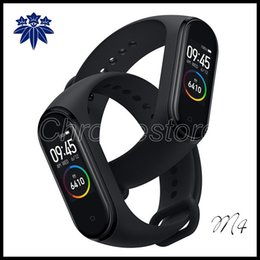 smart watch use dhl for shipping UK - M4 Smart Band Fitness Tracker Watch Sport bracelet Heart Rate Smart Watch Smartband Monitor Health Wristband ship by DHL