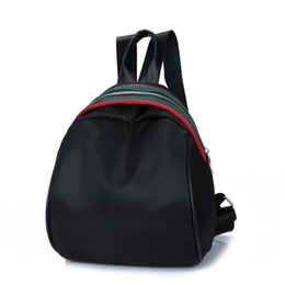 $enCountryForm.capitalKeyWord NZ - Backpack Women Fashion School Bags Luxury Handbags Strap Striped Famous Brand Zipper Backpacks Shoulder Mochila Soft Travel Lady Back Pack