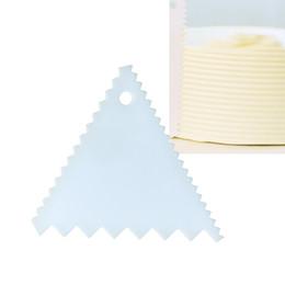 $enCountryForm.capitalKeyWord UK - Plastic Cake Scraper Butter Scraper Pastry Spatula Cutter Cream Icing Smoother DIY Cakes Decorating Tool Set Baking Supplies