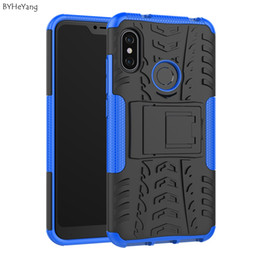 $enCountryForm.capitalKeyWord NZ - Mobile Phone Accessories Mobile Phone Cases Covers BYHeYang For Xiaomi Mi A2 Lite Case For Mi A2 Lite Cover Silicone Bumper Hybrid