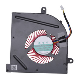 Msi fan online shopping - Laptop Cpu Cooling Fan For Msi Gs73 Gs73Vr Stealth Ms B1 Gs63Vr Gs63 Cooling Fan Bs5005Hs U2L1 Notebook Cooler Radiator