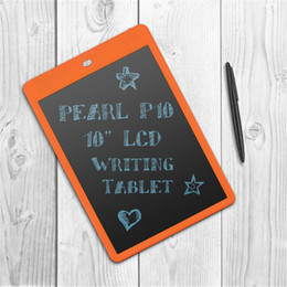 "usb boards UK - 10"" inch LCD Writing Tablet Drawing Board Paperless Digital Notepad Rewritten Pad for Draw Note Memo Remind Message children kid"