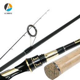 $enCountryForm.capitalKeyWord Australia - AI-SHOUYU Carbon Spinning Fishing Rod 2.1m 2.4m M MH Power MF Action Sea Bass Fishing Rod for Big Fish Feeder Spining peche