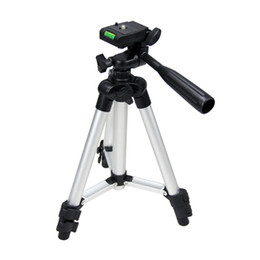 Tripod for camcorders online shopping - Newly Universal Tripod Portable Digital Camera Camcorder Tripod Stand Lightweight Aluminum for Canon Nikon Sony