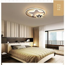 Radient Minimalist Ultra-thin 6cm Oak Wood Led Ceiling Lighting Ceiling Lamps For Living Room Child Baby Kids Bedroom Study Room Lights Ceiling Lights & Fans