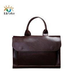 Korea Leather Man Bag Australia - High quality Japan, South Korea men black and brown bag Crossbody messenger bag formal business briefcase handbag XY309 #665653