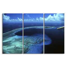 Art Canvas Prints Australia - 3 pieces of HD print submarine surface canvas painting poster and wall art living room picture HDBM3-1E