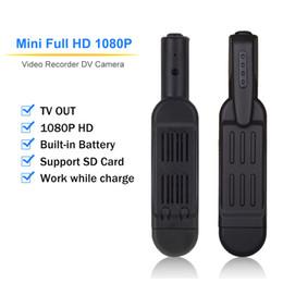 Build Camera Australia - HD 1080P Mini Camera T189 Pen Wearable Body Camera Built-in Battery Small Voice Recorder Portable Digital TV Out Support SD Card