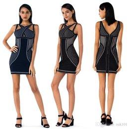 $enCountryForm.capitalKeyWord Australia - Women's Sexy Bandage Dress Summer Sleeveless Spaghetti Belt Stretch Fitness Club Party Dress Pack hip party sleeveless bandage dress dr
