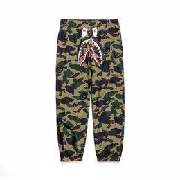 $enCountryForm.capitalKeyWord NZ - Dear2019 Brand Tide Shark Camouflage Leisure Time Student Movement Windbreaker Trousers Pants