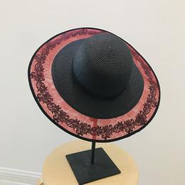 White Vintage Hats Australia - Europe Fashion Vintage Lace Mesh Ladies Sun  Hat panama Wide Brim 08542bd6251
