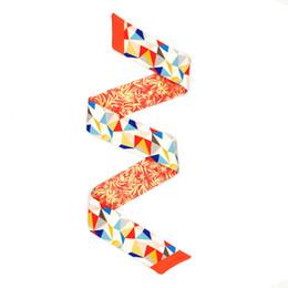 $enCountryForm.capitalKeyWord Australia - ELENI&ANNIE 34 Inch Neck Scarf Ribbon Hair Handbag Handle Wrap Hair Tie Band,Head Wrap,Bag Scarf,Designer Scarf ,Designer Belts