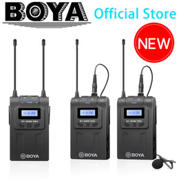 $enCountryForm.capitalKeyWord Australia - BOYA BY-WM8 Pro UHF Wireless Lavalier Microphone System for iPhone 8 Video Interview Broadcast Canon Nikon DSLR Camera Camcorder