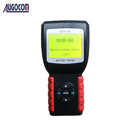 Micro Oil Australia - AUGOCOM MICRO-468 MICRO 468 Battery Tester Battery Conductance & Electrical System Analyzer With One Year Warranty