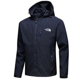 Windbreaker for men 4xl online shopping - Outdoor Jackets Mens Designer Hoodies Men s Single Layer Spring Thin Waterproof Sports Windbreaker Jacket for Hiking Fishing Mountaineering