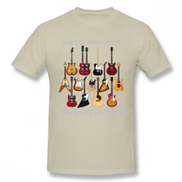 Discount electric guitars brands - Mens luxury brand designer t shirts Fashion Electric Guitar Tee Shirt Male Big Size Music Style T Shirt man tee shirt T-