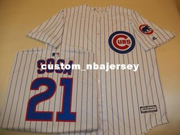 Wholesale cool jersey names online – design Cheap custom SAMMY SOSA Cool Base Baseball Jersey W Patch NEW Stitched Customize any name number MEN WOMEN BASEBALL JERSEY XS XL