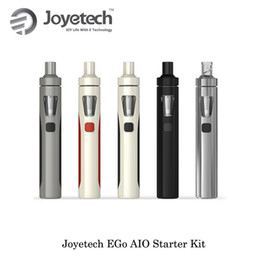 China 100%Authentic Electronic Cigarette Joyetech Ego AIO Starter Kit Classic Colors All-in-One 2ml Anti-leaking Tank 1500mAh eGo AIO Battery suppliers