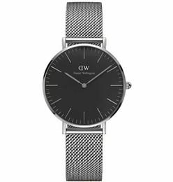 $enCountryForm.capitalKeyWord UK - Watches New Red Leather Rose Gold Quartz Watch Luxury Vintage Watch 32 36 40MM Luxusuhren Uhren Mens Womens Watch With Original Box