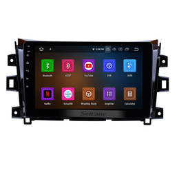 Rearview Screen NZ - 10.1 Inch Android 9.0 Car Multimedia Player for 2011-2016 NISSAN navara with Bluetooth WIFI GPS Navigation support Rearview Camera car dvd