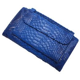 Ostrich Leather Clutch Bag Australia - Crocodile Pattern Genuine Leather Handbags Fashion Women's Tote Messenger Bags Chain Shoulder Bags Female Party Clutch Dropship