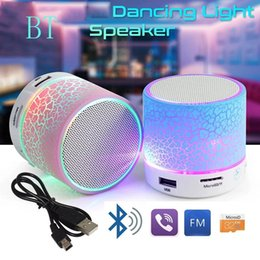 Hot Selling A9 Bluetooth Speaker Outdoor Colorful Led Light Mini Hands Free Portable Wireless Bluetooth Speaker With TF Card Music Player on Sale