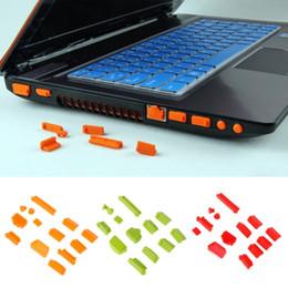 $enCountryForm.capitalKeyWord Australia - 13pcs set Cover Colorful Silicone Laptop Anti Dust Plug Cover Stopper Universal dustproof