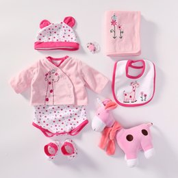 $enCountryForm.capitalKeyWord Australia - NPK Handmade Baby Doll clothes Accessories Design for 20 -22 inch Reborn Baby Doll Girl Clothes Sets and extra plush gifts