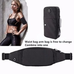 $enCountryForm.capitalKeyWord Australia - Waterproof Rotatable Running Phone Arm Bag Wrist Band Belts Bag Wristlet Phone Case For Jogging Cycling Gym Armband 6.4 In