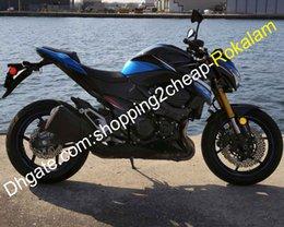 Black Body Molding Australia - Body Fairing Kit For Kawasaki Z800 2013 2014 2015 2016 Z 800 Blue Black Sportbike Motorcycle Fairings Set (Injection molding)