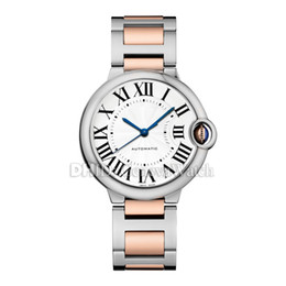 $enCountryForm.capitalKeyWord Australia - Luxury Watch Ballon Bleu De V9 desigenr watch man W2BB0023 W2BB0003 33 36 42mm 18K Rose Gold Mens Watches Mechanical Automatic Wristwatches