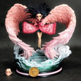 robin toys Australia - Anime One Piece Nightmare Wing Nico Robin Action Figures GK Model Toys 19cm